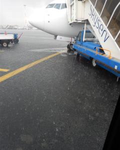 Saloniki raining