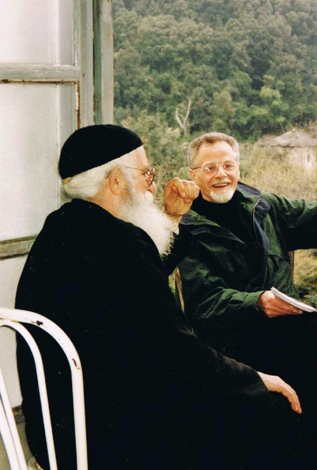 0102-portret-r-geldermans-7-april-1998-with-father-iakovos-in-iviron