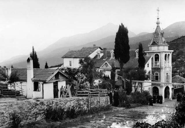 karyes-the-cell-of-st-nicholas-burazeri-beginning-1900