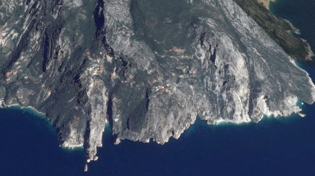 Katounakia en Daniileon google maps