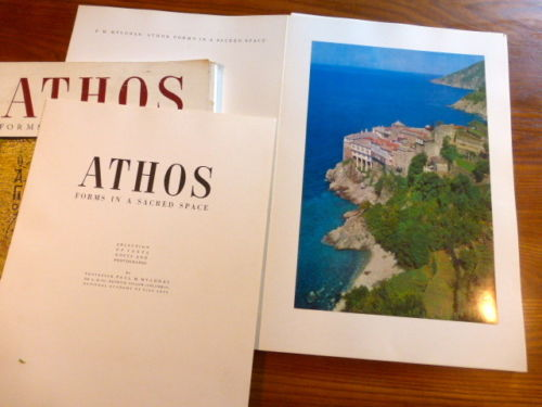 Mylonas, Paul M. ATHOS. Forms in a Sacred Space. Athen
