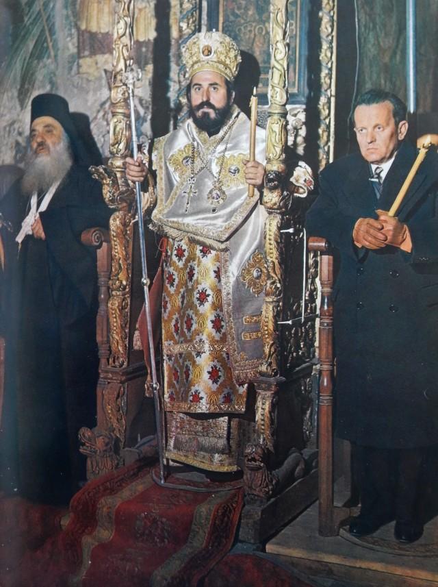 016 Dahm Protos en Gouverneur Konstantopoulos bisschop Nathanael in Protaton