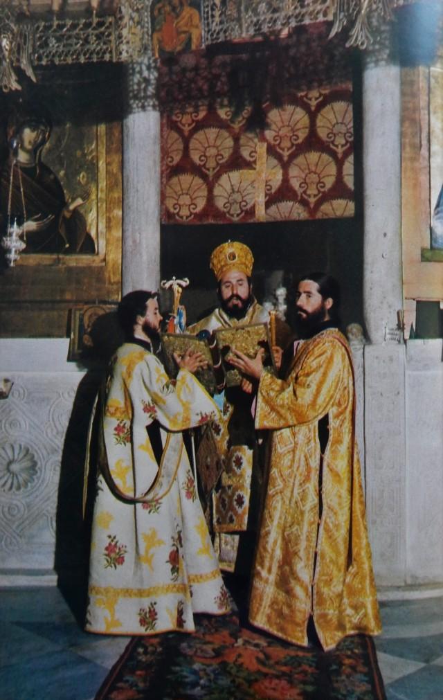 129 Dahm Protaton protos iconostasis Easter