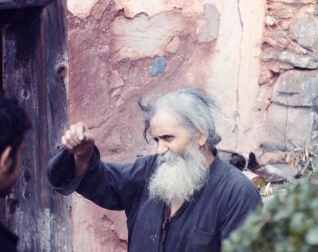 Father Thalleleos 1971 by Nicholas Exadaktylos
