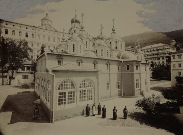 Panteleimonos church late 1800