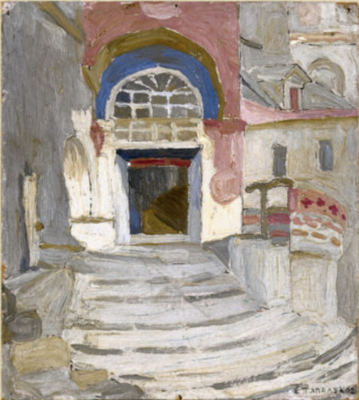 papaloukas 1923 24 the red balcony