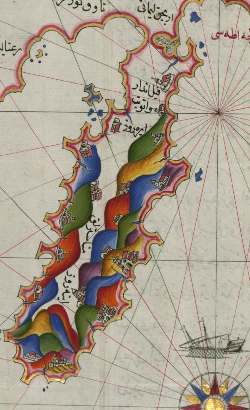 Piri Reis map ottoman detail athos.png